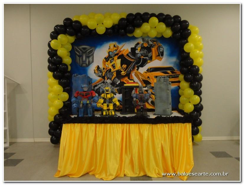 Festa  Transformers  Balões e Arte