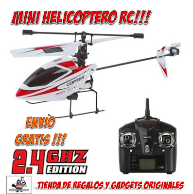 mini helicoptero radiocontrol RC
