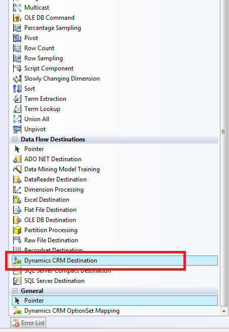 How to Execute a CRM Workflow from SSIS - Dynamics CRM and SSIS Integration 1