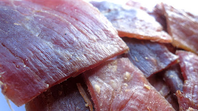 grilled bbq pork jerky