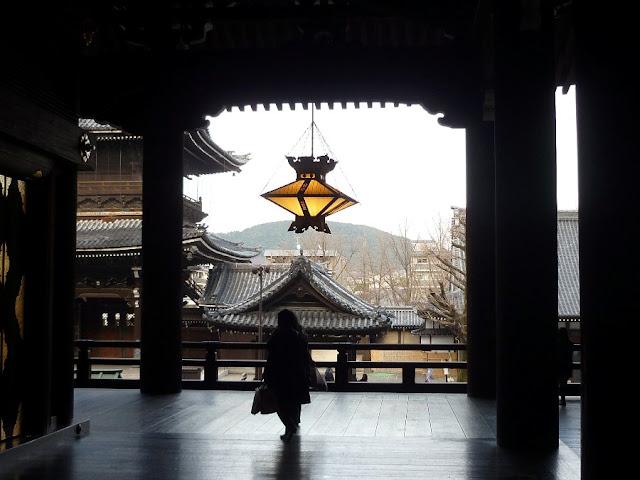 nishi higashi hongan-ji, cosa vedere a kyoto