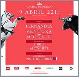 CAMPO PEQUENO (LISBOA) 09-04-15 ABERTURA DE TEMPORADA COM UMA CORRIDA A PORTUGUESA.