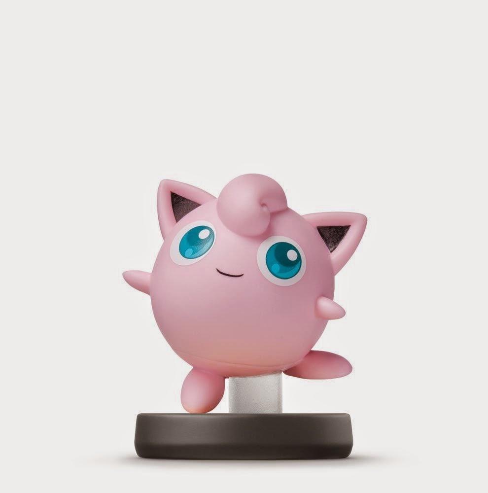 JUGUETES - NINTENDO Amiibo - 37 : Figura Jigglypuff   (29 Mayo 2015) | Videojuegos | Muñeco | Super Smash Bros Collection  Plataforma: Wii U & Nintendo 3DS