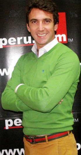 Antonio Pavón posando para Peru.com