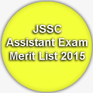 JSSC Assistant  Merit List 2015 www.jssc.in