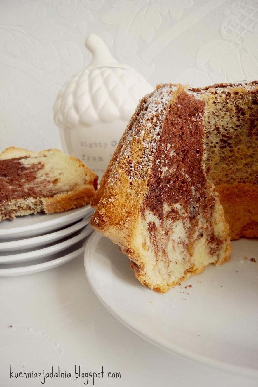 Kuchnia z jadalnią Marmurkowa babka na oleju -> Kuchnia Szeroko Otwarta Babka Marmurkowa