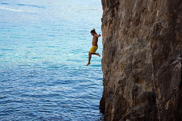 Skokovi sa stene - Grčka, Krf