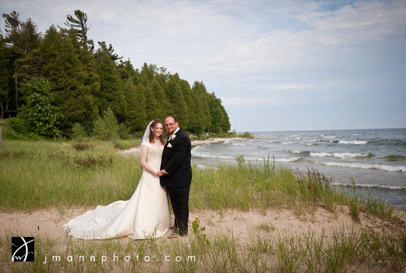 Door County Beach Wedding