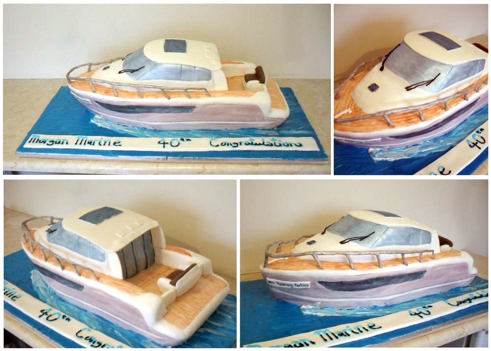 Speed Boat Cake http://sprinklesandcrumbs.blogspot.com/2011/06/cakes-break-then-more-cakes.html