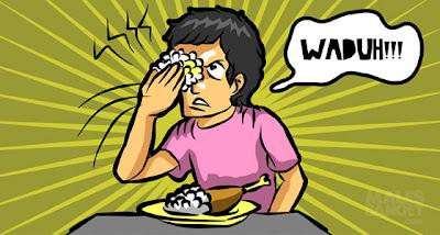 Hal Menyebalkan Yang Terjadi Saat Sedang Makan Pake Tangan