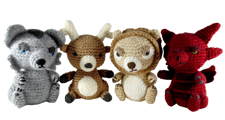 Game Of Thrones Amigurumi Pattern Free : i crochet things: Pattern: Game of Thrones Sigils Amigurumi