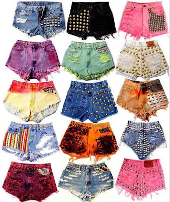Shorts customizados