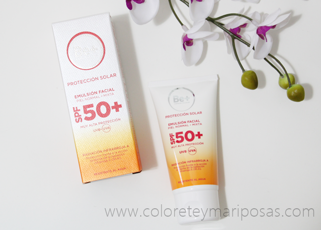 EMULSION FACIAL SPF 50+ de Be+