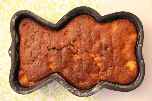 Gâteau super-moelleux poire-chocolat