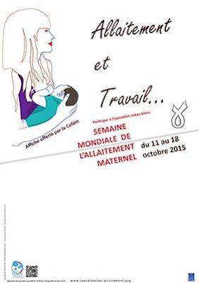 SMAM semaine mondiale allaitement maternel COFAM travail tire-lait medela