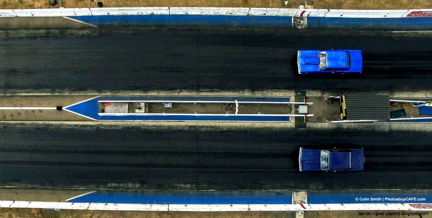 Shooting Drag racing from the air with a drone   PhotoshopCAFE