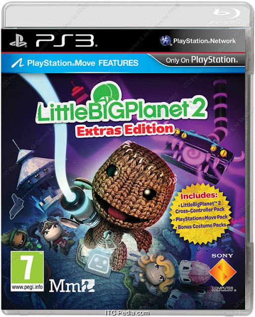 Little Big Planet 2 Extras Edition PS3 - STRiKE
