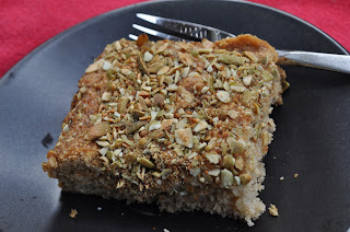 Chia Seed as Egg Replacer in Vegan Coffee Cake