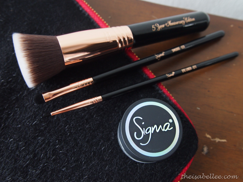 Sigma Beauty Copper brushes