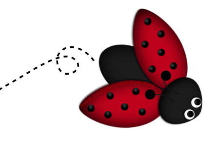 Ladybug Clip Art Borders