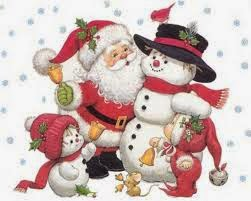 imagen de muñeco en la navidad