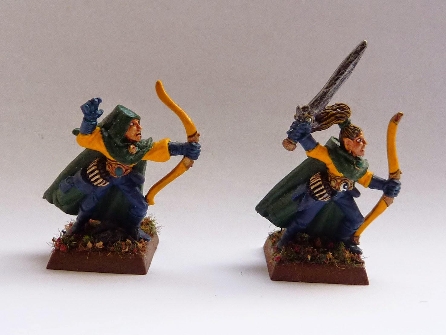 Wood Elf Glade Guard, Warhammer Fantasy Battle