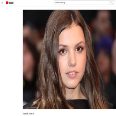 youtube com - hannah murray