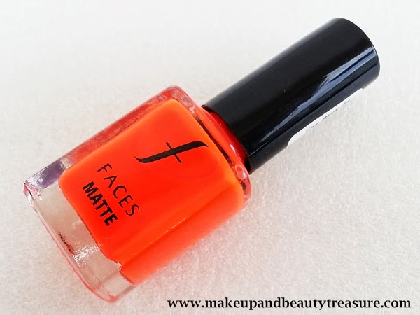 faces cosmetics matte nail polish review