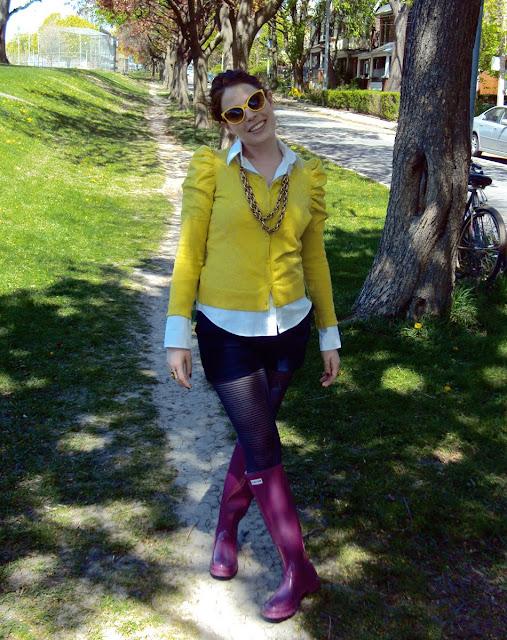 Hunter Boots Violet