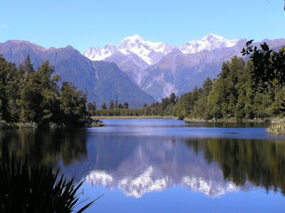 Lake-Matheson,New Zeland