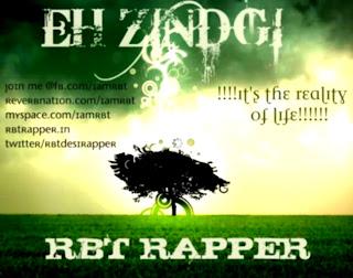 EH ZINDGI by RBT RAPPER free mp3 desi hiphop rap download