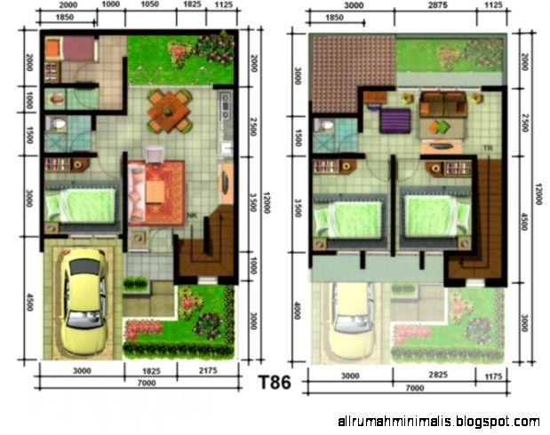 Inspirasi Desain Denah Rumah