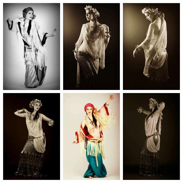 alicia lopez  clases de danza tribal fusion