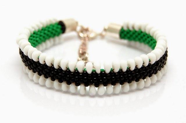 bransoletka koralikowa bead crochet bracelet inati zare 13