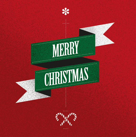 Paper Circus Merry Christmas Photo Cards