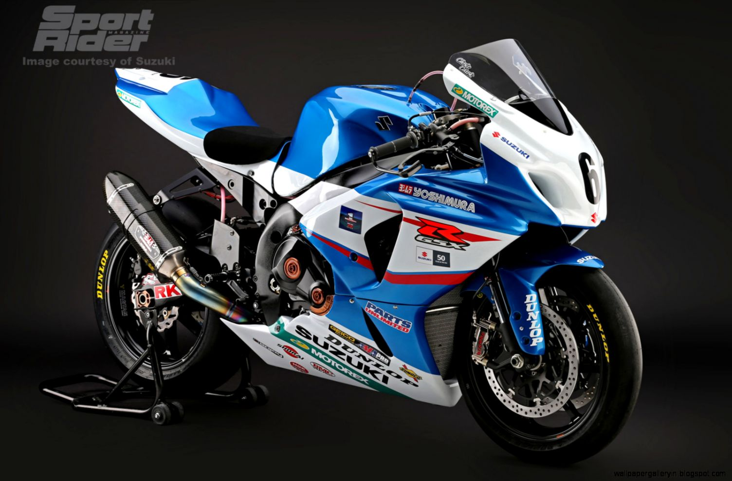 Superbike Yoshimura Suzuki HD 2591 Wallpaper