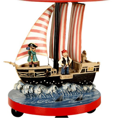 Pirate Table Lamp For Kids Rooms Photo