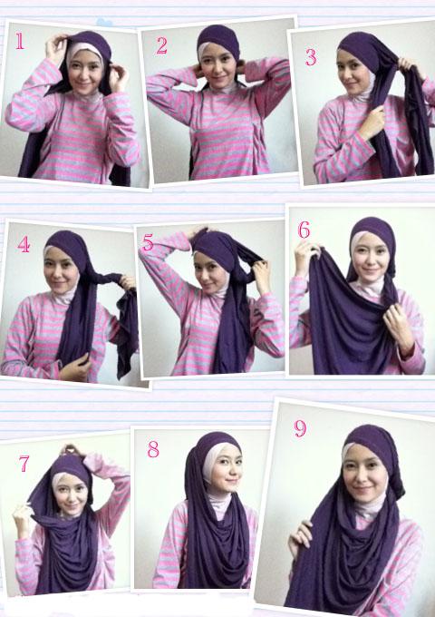hijab cantik cara memakai jilbab modern