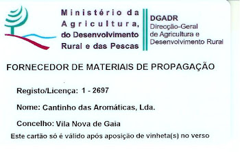Licença Viveirista 2016