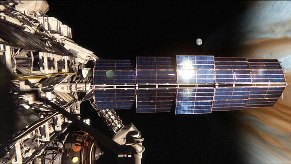 Remarkable effects in Europa Report
