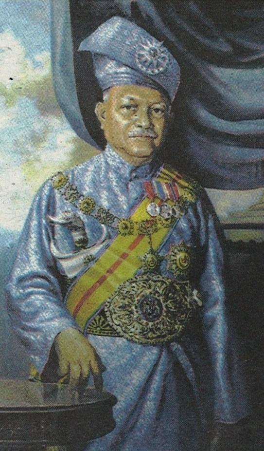Yang Di-Pertuan Agong Pertama.