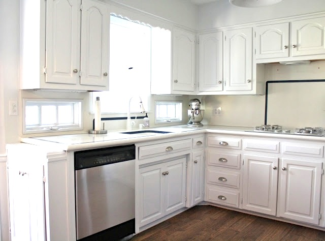 UPDATE: You Can See The Full Kitchen Remodel With Before And After And All  The Details Here!