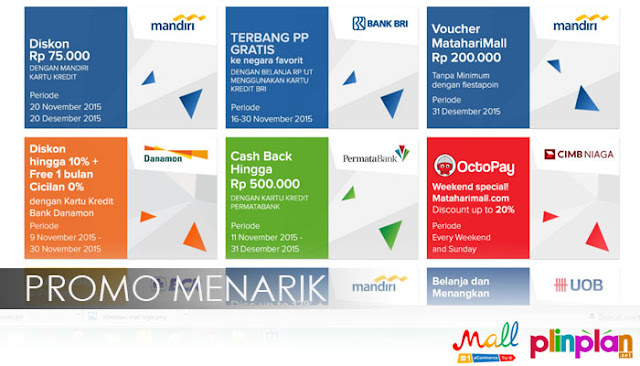 Cuci Gudang Akhir Tahun Siap-siap Belanja Online : Promo Menarik di Mataharimall.com