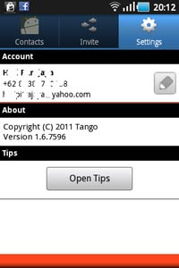 Tango Download Process 3