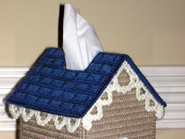 Birdhouse Tissue Box Cover