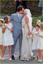 Bruid In Stijl De Trouwjurk Van Kate Moss