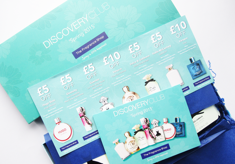 The Fragrance Shop's Discovery Club - Spring 2015 review
