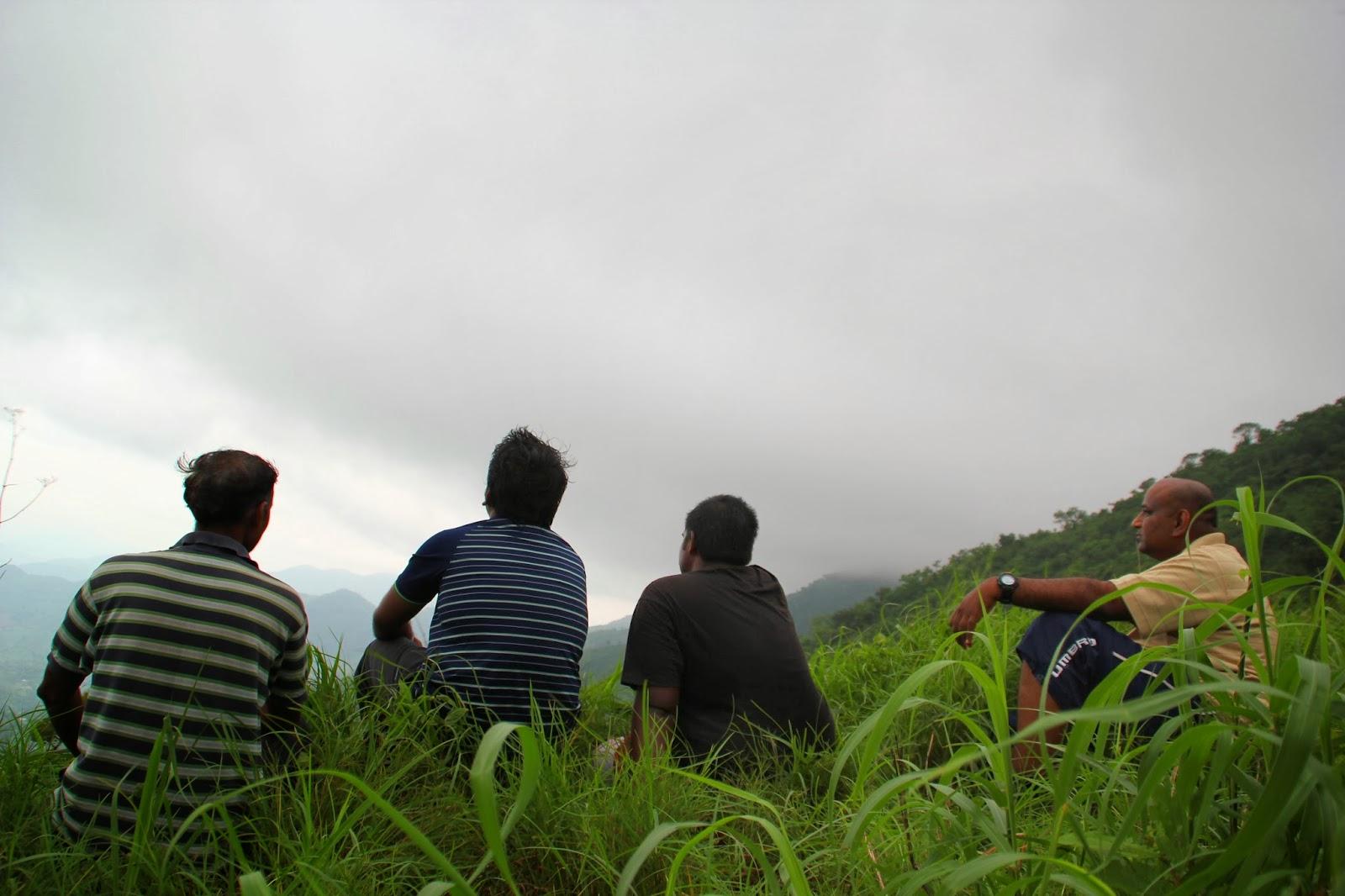 Relaxing time enroute mahendragiri