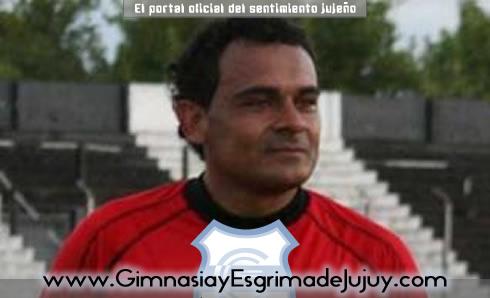 "Gimnasia de Jujuy, Gustavo ""Oso"" Coronel"