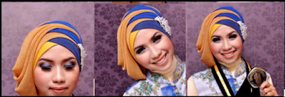 Tutorial Hijab Wisuda Dengan Gambar Ala Inivindi